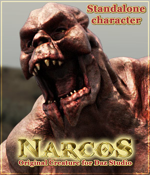 NARCOS standalone character for Daz Studio 3D Models powerage