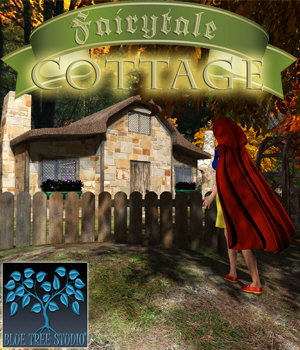 Fairytale Cottage 3D Models BlueTreeStudio