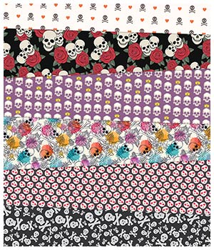Skull Fabric Prints 2D Graphics Merchant Resources Medeina