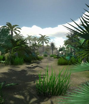 Tropical models - Extended License 3D Game Models : OBJ : FBX 3D Models Extended Licenses dexsoft-games