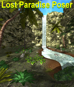 Lost Paradise Poser 3D Models JeffersonAF