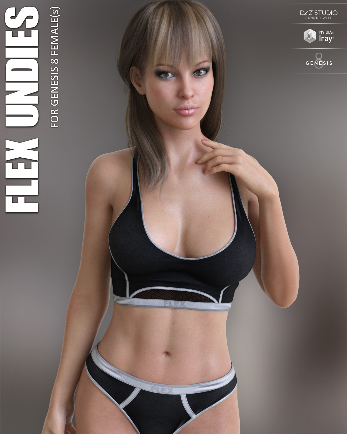 Flex Undies for Genesis 8 Females