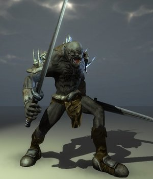 Troll 2 - Extended License 3D Game Models : OBJ : FBX 3D Models Extended Licenses dexsoft-games