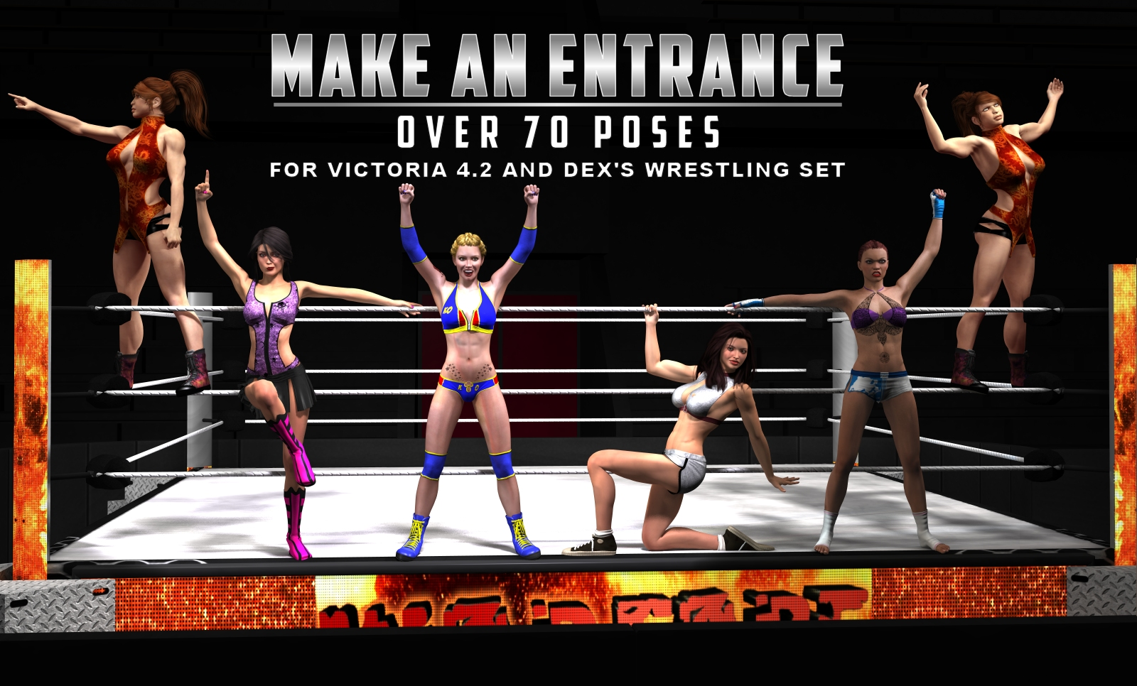 Make an Entrance Poses by DexPac