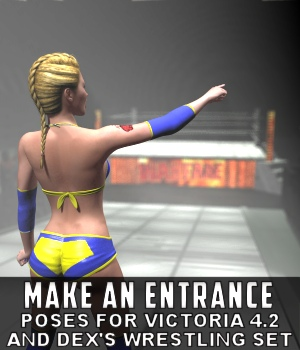 Make an Entrance Poses 3D Figure Assets DexPac