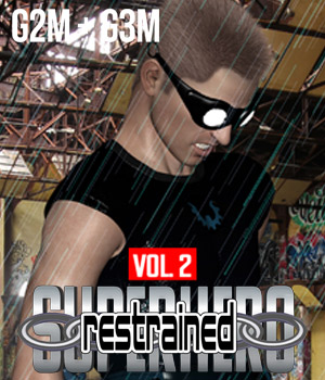 SuperHero Restrained for G2M and G3M Volume 2 3D Figure Assets GriffinFX