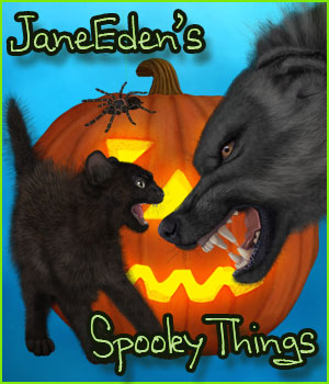 JaneEden's Spooky Things 2D Graphics JaneEden