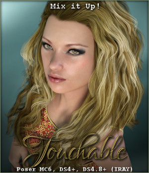 Touchable Whitney 3D Figure Assets -Wolfie-