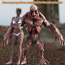 NARCOS standalone character for Daz Studio - Extended License image 1
