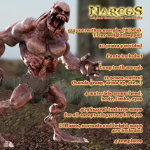 NARCOS standalone character for Daz Studio - Extended License image 3
