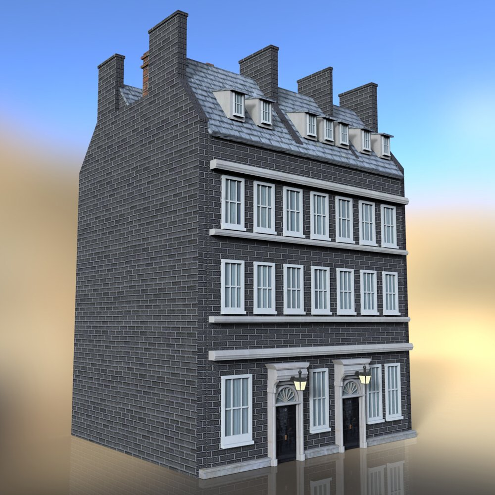No 10 Downing Street - for DAZ Studio
