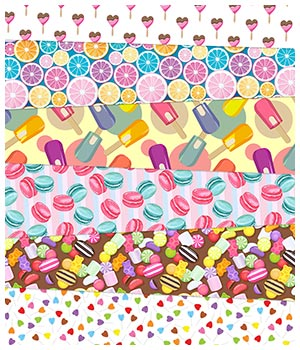 Sweet Fabric Prints 2D Graphics Merchant Resources Medeina