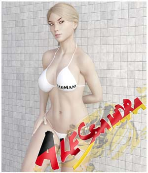 Alessandra for Genesis 3 Females 3D Figure Assets guaiamustudio