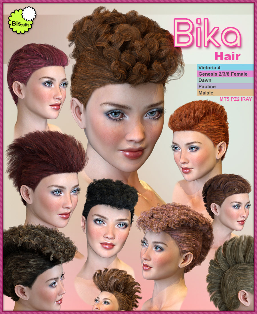 Biscuits Bika Hair
