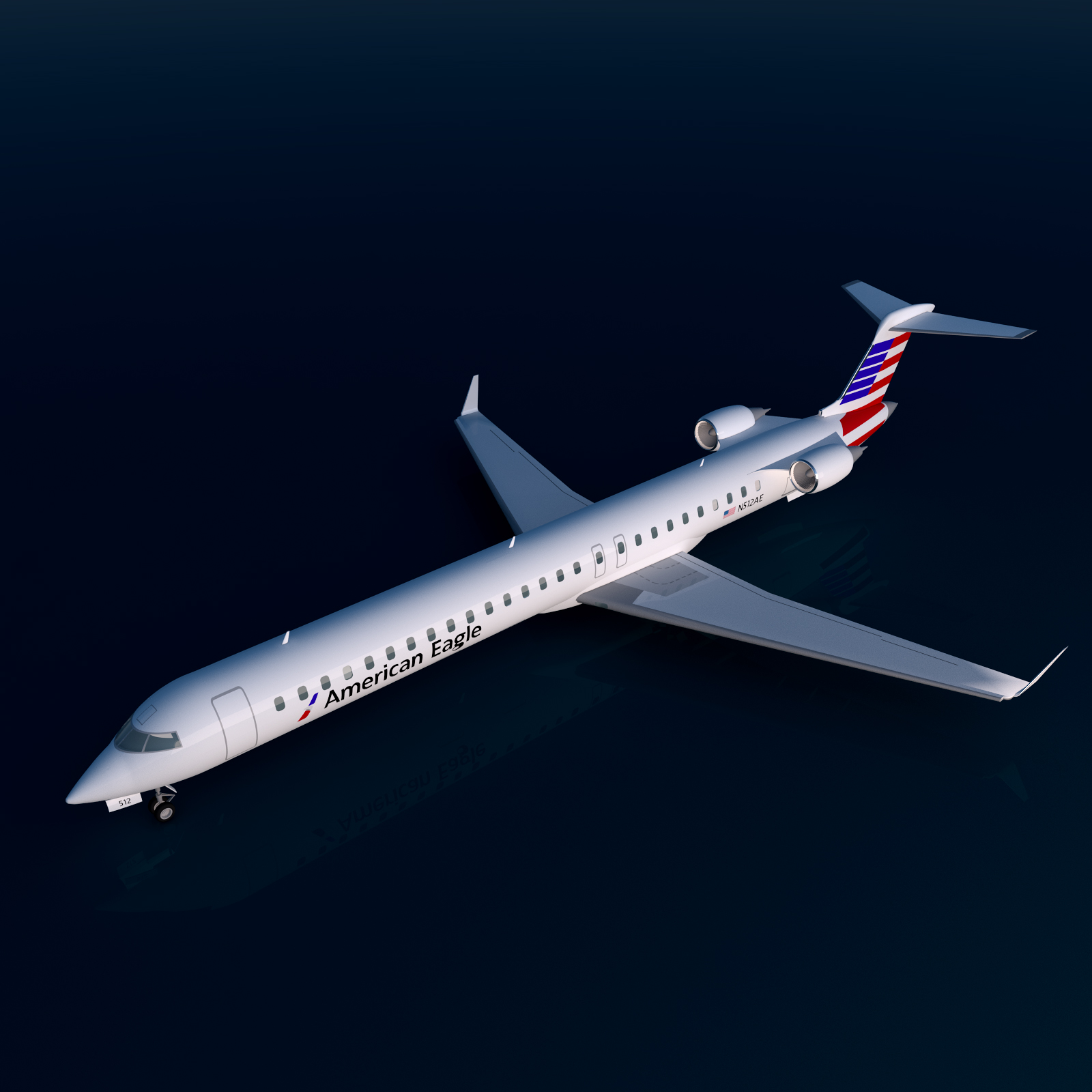 AMERICAN AIRLINES CRJ 1000