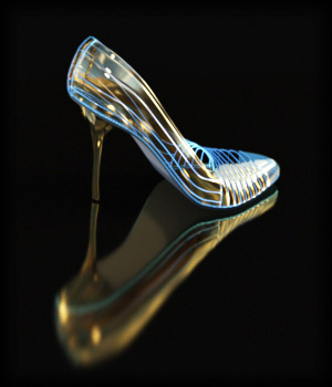 PROTOTYPE-X - SciFi High-Heels 2 - for G8F 3D Figure Assets EdArt3D