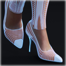 PROTOTYPE-X - SciFi High-Heels 2 - for G8F image 3