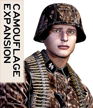 German Infantry Expansion - Extended License 3D Figure Assets 3D Models Extended Licenses tannenbaum