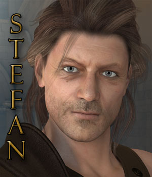 Stefan for M4 & Genesis 3D Figure Assets RPublishing