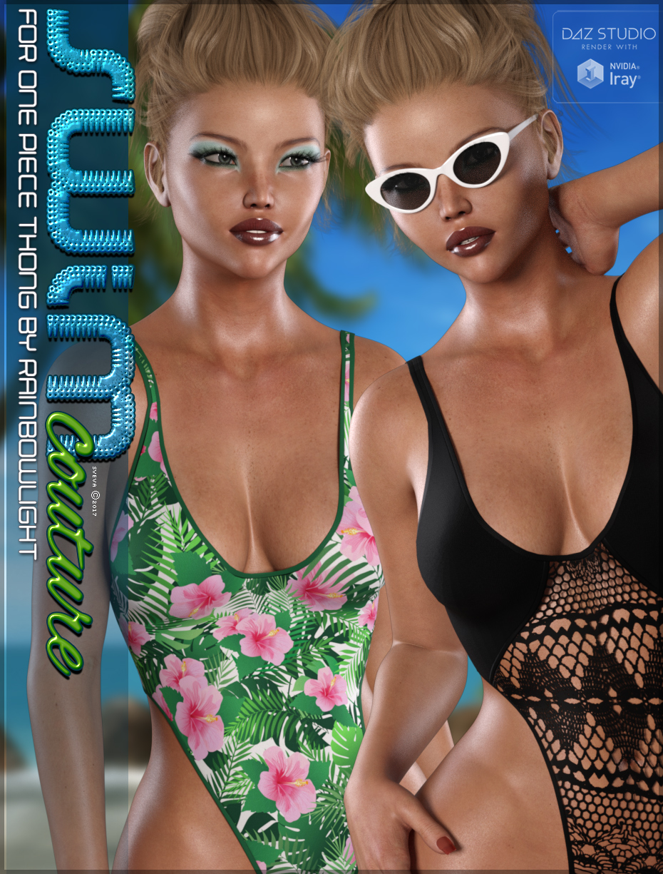 SWIM Couture for One Piece Thong