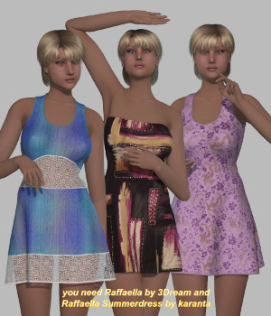 MyStyle for Raffaella Summerdress 3D Figure Assets Mirella