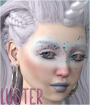 Luster for Genesis 8 Female 3D Figure Assets TwiztedMetal