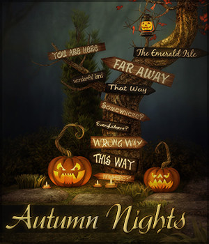 Autumn Nights 2D Graphics Sveva