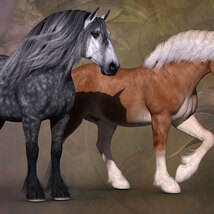 CWRW Ultra Textures for the HiveWire Horse Pack 1 image 8