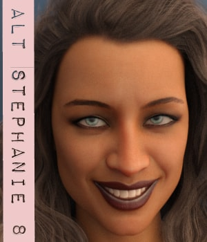 Alt Stephanie 8 3D Figure Assets AliveSheCried