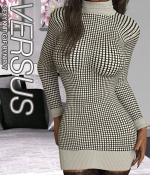 VERSUS - Sexy Knit G3F 3D Figure Assets Anagord