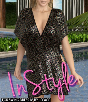 InStyle - Swing Dress IV 3D Figure Assets -Valkyrie-