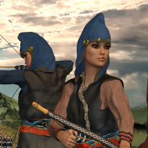 Scythian Archers for Genesis 3 and 8 image 2