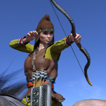 Scythian Archers for Genesis 3 and 8 image 4