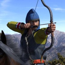 Scythian Archers for Genesis 3 and 8 image 5