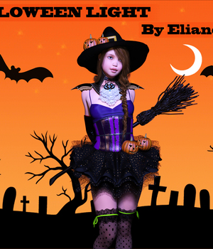 ElianeCK halloween Iray light 3D Lighting : Cameras elianeck