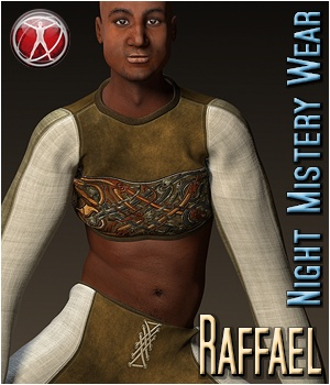 Raffael - Night Mistery Wear 3D Figure Assets 3Dream