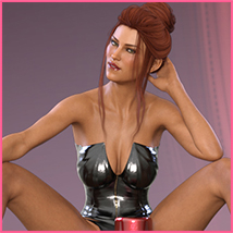 Z Hot Mood - Poses and Partials for the Genesis 8 Females image 5