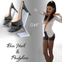 Rose Heels and Pantyhose G8F image 4