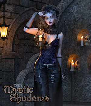DMs Mystic Shadows 3D Figure Assets 3D Models DM