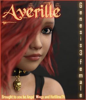 Averille for Genesis 3 Female 3D Figure Assets Angel_Wings