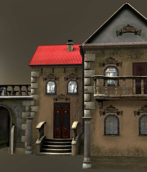 Small City - Extended License 3D Game Models : OBJ : FBX 3D Models Extended Licenses dexsoft-games