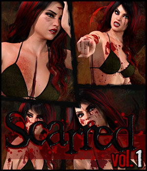 Scarred Vol.1 for Genesis 8 Female  3D Figure Assets ShanasSoulmate