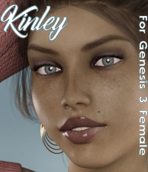 Kinley For G3F 3D Figure Assets Calico
