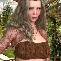 7th Ave: Hot Top Set for Genesis 8 Female image 3