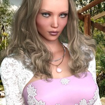 7th Ave: Hot Top Set for Genesis 8 Female image 8