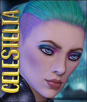 Celestelia For Genesis 8 Female 3D Figure Assets Ladyillin
