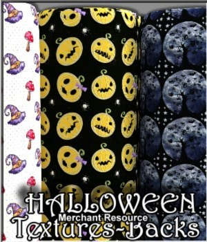 Halloween Textures & Background 2D Graphics Merchant Resources LUNA3D