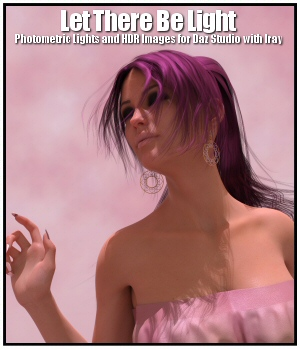 Let There Be Light for Daz Studio with Iray 3D Lighting : Cameras Lully