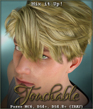 Touchable Lyall 3D Figure Assets -Wolfie-