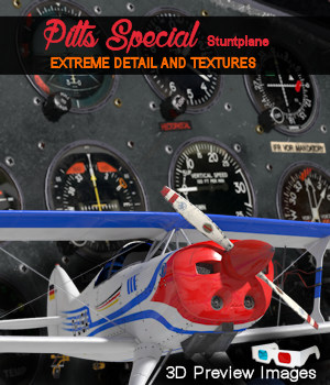 Pitts Special Stuntplane 3D Models ByteFactory3D